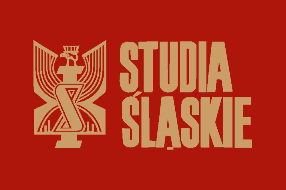 Złoto-czerwona wersja logo czasopisma Studia Śląskie
