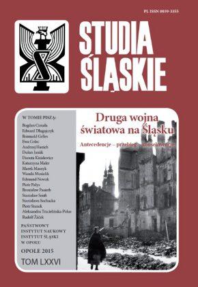 Studia śląskie 76 - okładka