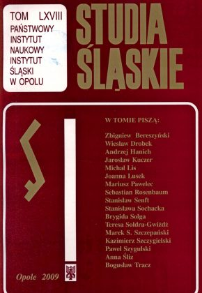 Studia Śląskie tom 68 - okładka