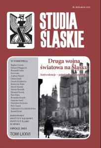 Studia Śląskie tom 76
