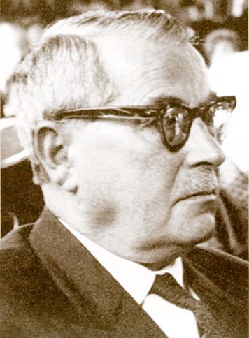 Portret od profilu Seweryna Wysłoucha