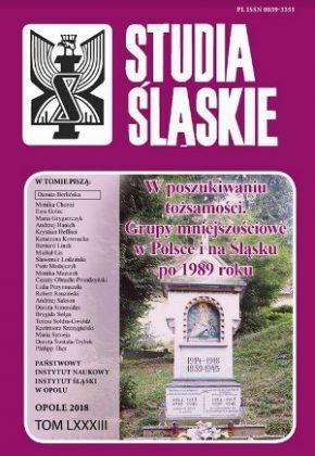 Studia śląskie 83 - okładka